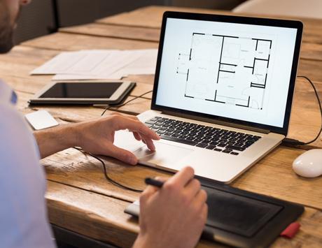 планировка дачного каркасного дома