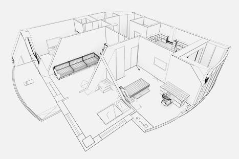 разработка дизайн проекта помещений